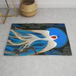 Moon bird Rug