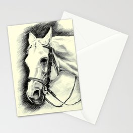 Horse-portrait Stationery Cards
