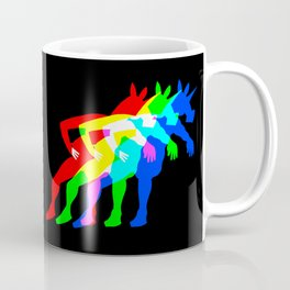 RGB Unicorn V02 Coffee Mug