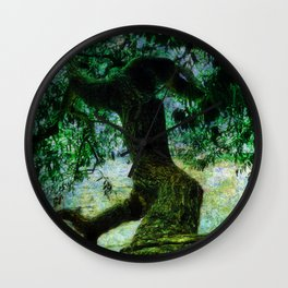 just a tree Wall Clock