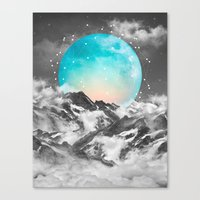 geometric Canvas Prints featuring It Seemed To Chase the Darkness Away by soaring anchor designs