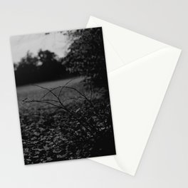 AUTUMN TREE - BLACK & WHITE Stationery Cards