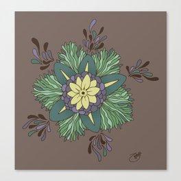 Sea Blossom Canvas Print