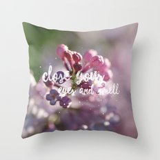 Just smell... Throw Pillow