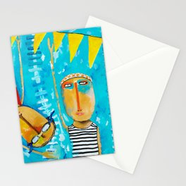 Swimming Is Hard Stationery Cards