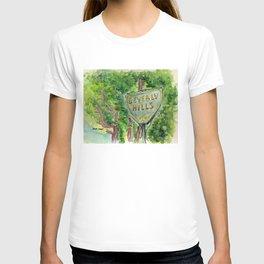 Beverly Hills Street Sign T-shirt