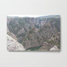 Black Canyon of the Gunnison River Metal Print