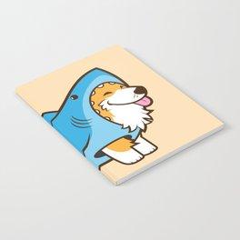 Corgi in a Shark Suit Notebook