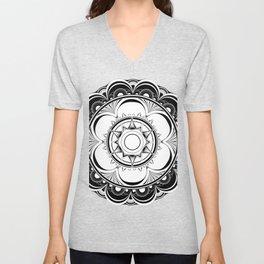 Psychedelic Mandala Unisex V-Neck
