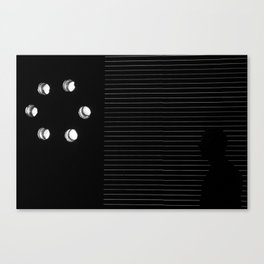 Sombra Canvas Print