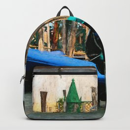 Venetian Gondolas Backpack