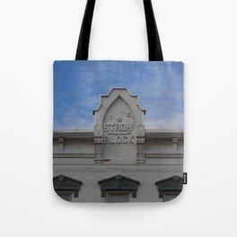 Stroh Block Tote Bag