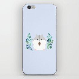 Furball in the garden iPhone Skin