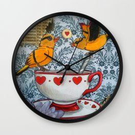 sweet parting Wall Clock