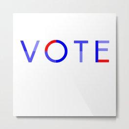 Vote Baby Vote 040616 Metal Print