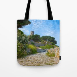 Once Upon a Guernsey Path Tote Bag