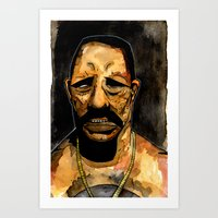 danny haas Art Prints featuring Danny by Grant Hunter