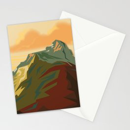 Night Mountains No. 44 Stationery Cards