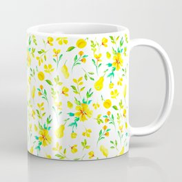 Pears, honey and spring flowers Coffee Mug