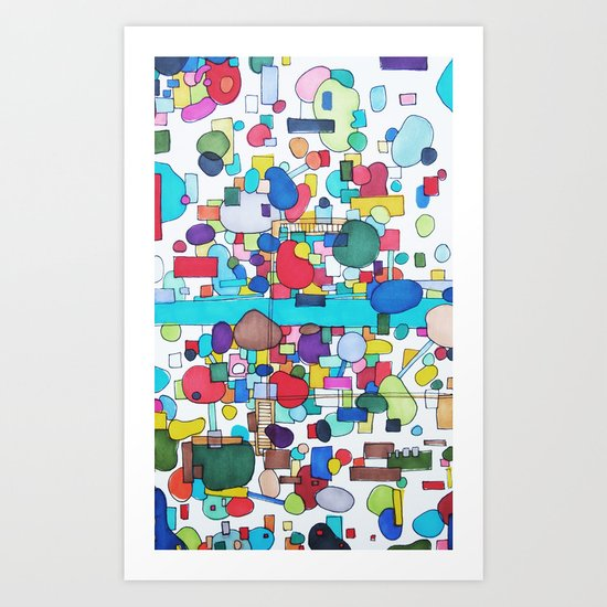 River City Art Print