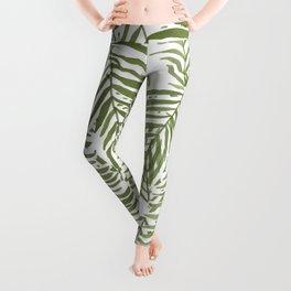 Areca Palm Pattern Leggings