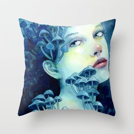 Beauty in the Breakdown Throw Pillow