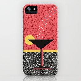 MEMPHIS STYLE N°10 iPhone Case