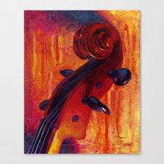 Fit as a Violin #5 Canvas Print