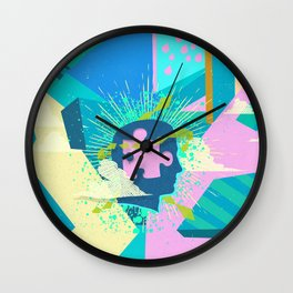 MIND PUZZLES Wall Clock