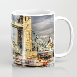 Tower Bridge and the Dixie Queen Coffee Mug