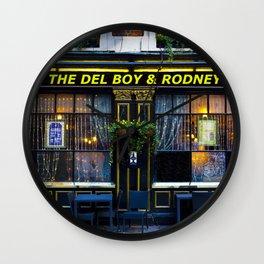 The Del Boy and Rodney Pub Wall Clock