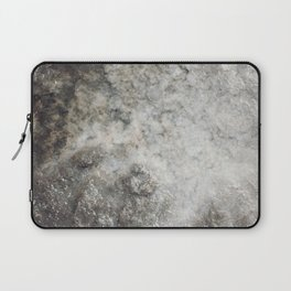 Pockets of Salt on the Rocks by the Sea Laptop Sleeve