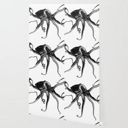 Cosmic Octopus Wallpaper
