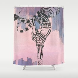 Taurus - Zodiac Signs Series Shower Curtain