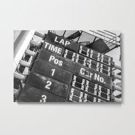 Time's up. Metal Print