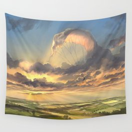 made of air Wall Tapestry