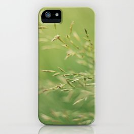 summer greens iPhone Case