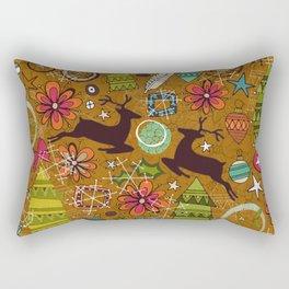 joyous jumble gold Rectangular Pillow