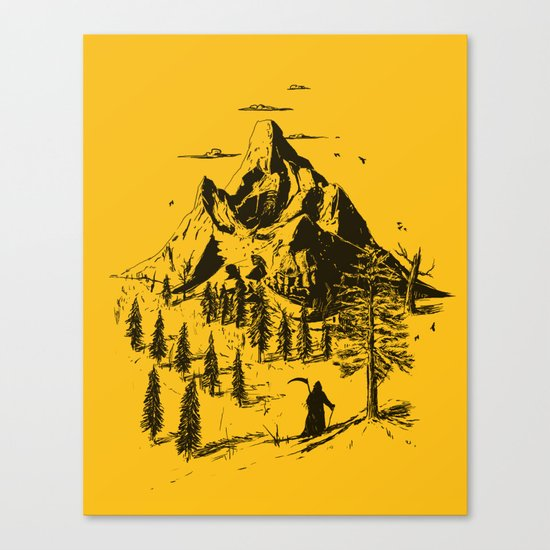 Home! Sweet Home! Canvas Print