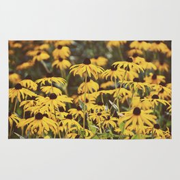 Black-Eyed Susans Rug