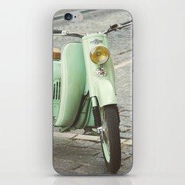 Mint Moto iPhone Skin