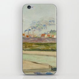 Road to Gennevilliers iPhone Skin