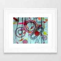 transparent Framed Art Prints featuring Transparent by Lauren Moss
