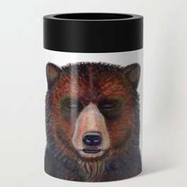 Blissed Out Bear Can Cooler