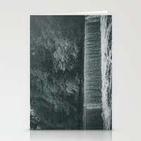 waterfall Stationery Cards featuring Waterfall by Errne