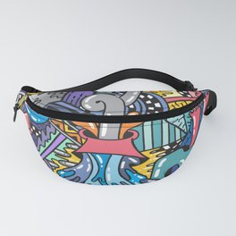 NATURAL DISASTER Fanny Pack