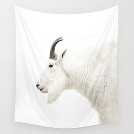 NORDIC MOUNTAIN GOAT Wall Tapestry