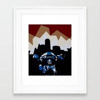 robocop Framed Art Prints featuring RoboCop by iankingart