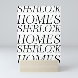 Sherlock Homes Mini Art Print