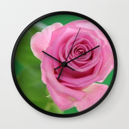 Pink and Green Pallette Wall Clock